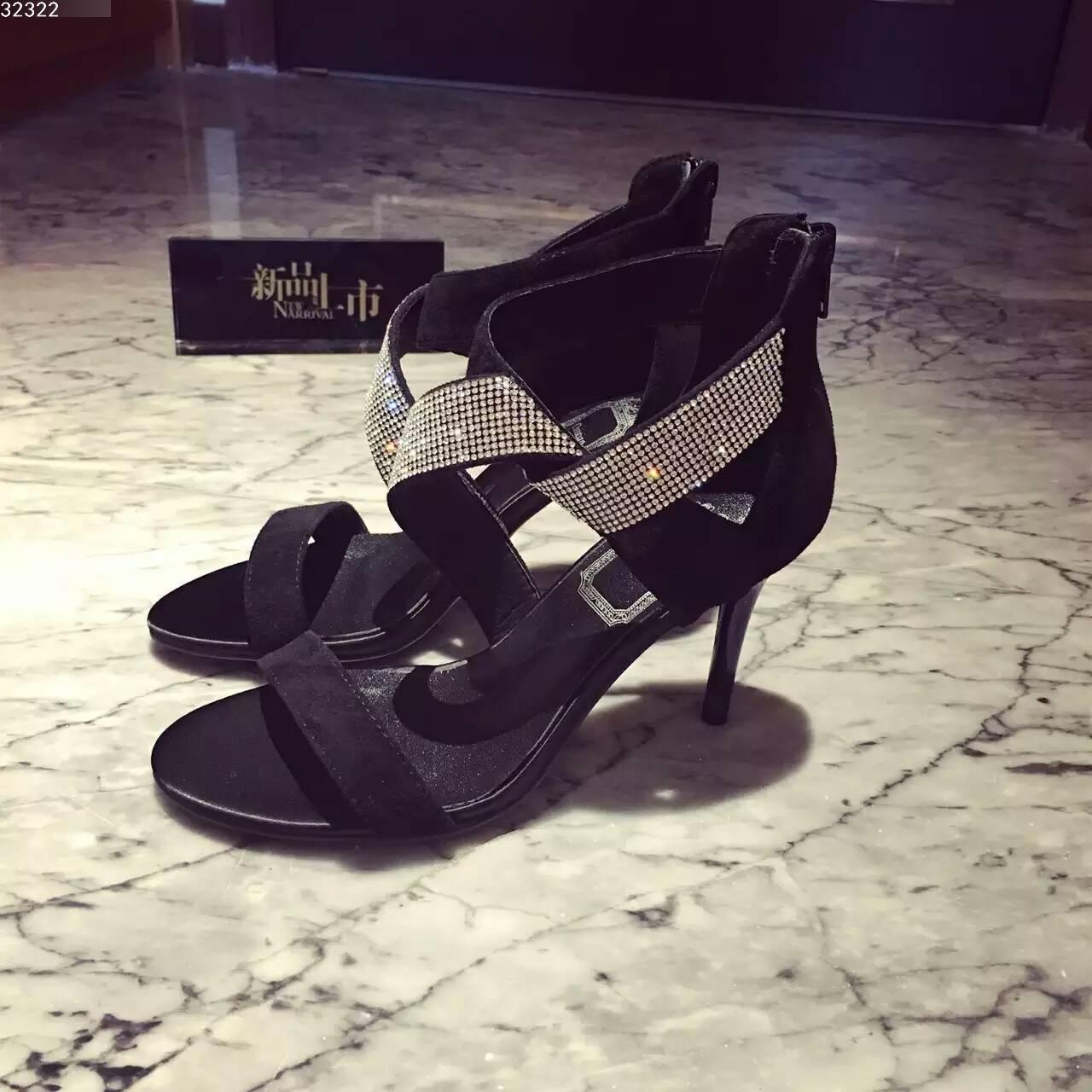 Dior 迪奥水钻凉鞋