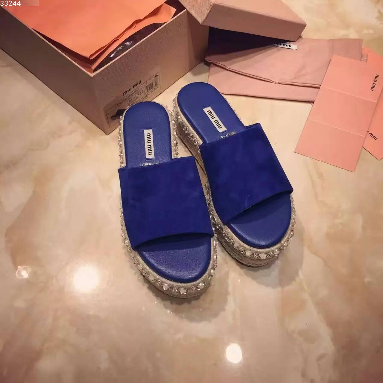 Miu Miu 拖鞋