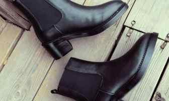 Ann deme helmeted 短靴